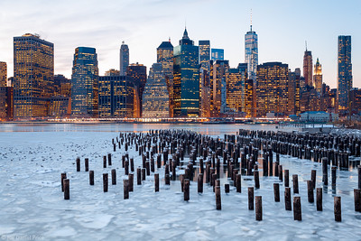 Lower Manhattan Skyline, Freedom Tower, New York City, New York, America