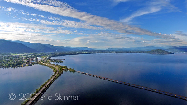 Looking North Into Sandpoint