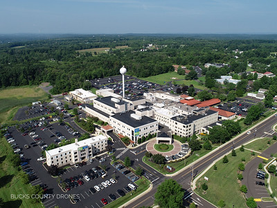 Grand View Hospital Drone View