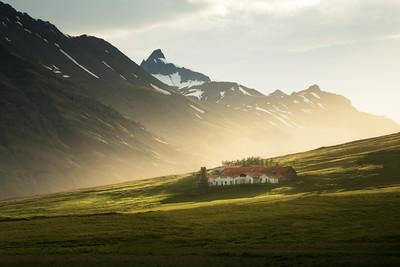 Farm House in Iceland