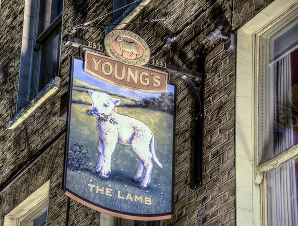 On The Lamb in London