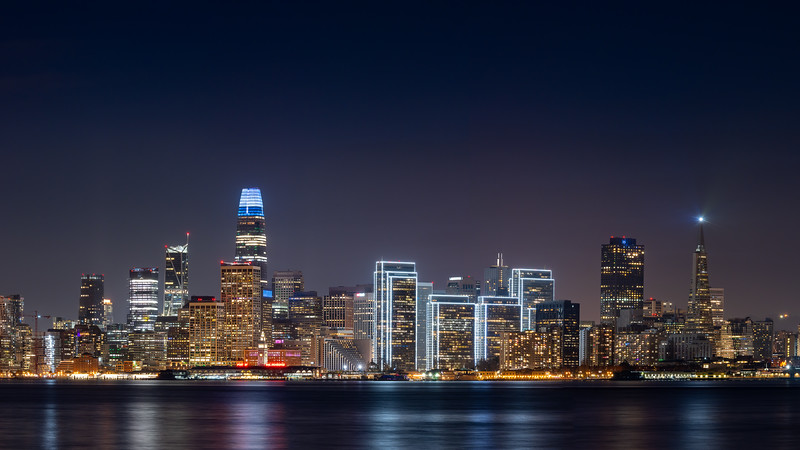 SF Skyline - Christmas 2020