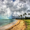 """<h2>Crazy Clouds in Oahu</h2> <br/>The water in Oahu had an unusual quality of keeping that turquoise color even if there was very little sun in the sky. It seemed like just a bit of sunshine is all that was needed to get into that crystal water and bounce around like a jewel.<br/><br/>This was the only sunshine I got after countless days of stormy weather. <br/><br/>- Trey Ratcliff<br/><br/><a href=""""http://www.stuckincustoms.com/2012/09/30/crazy-clouds-in-oahu/"""" rel=""""nofollow"""">Click here to read the rest of this post at the Stuck in Customs blog.</a>"""