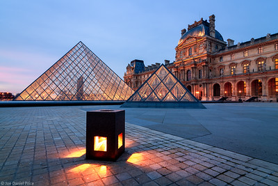 Little Light at the Louvre, Paris, France