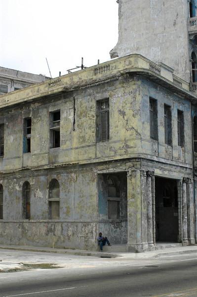 Disheveled Building