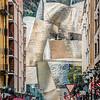 Titanium Street Scene - Bilbao, Spain