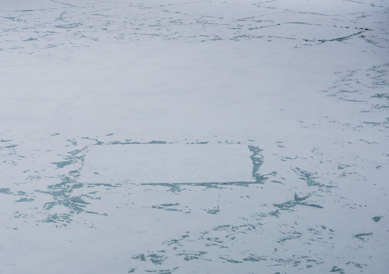 Strange Formations In Antarctica Ice