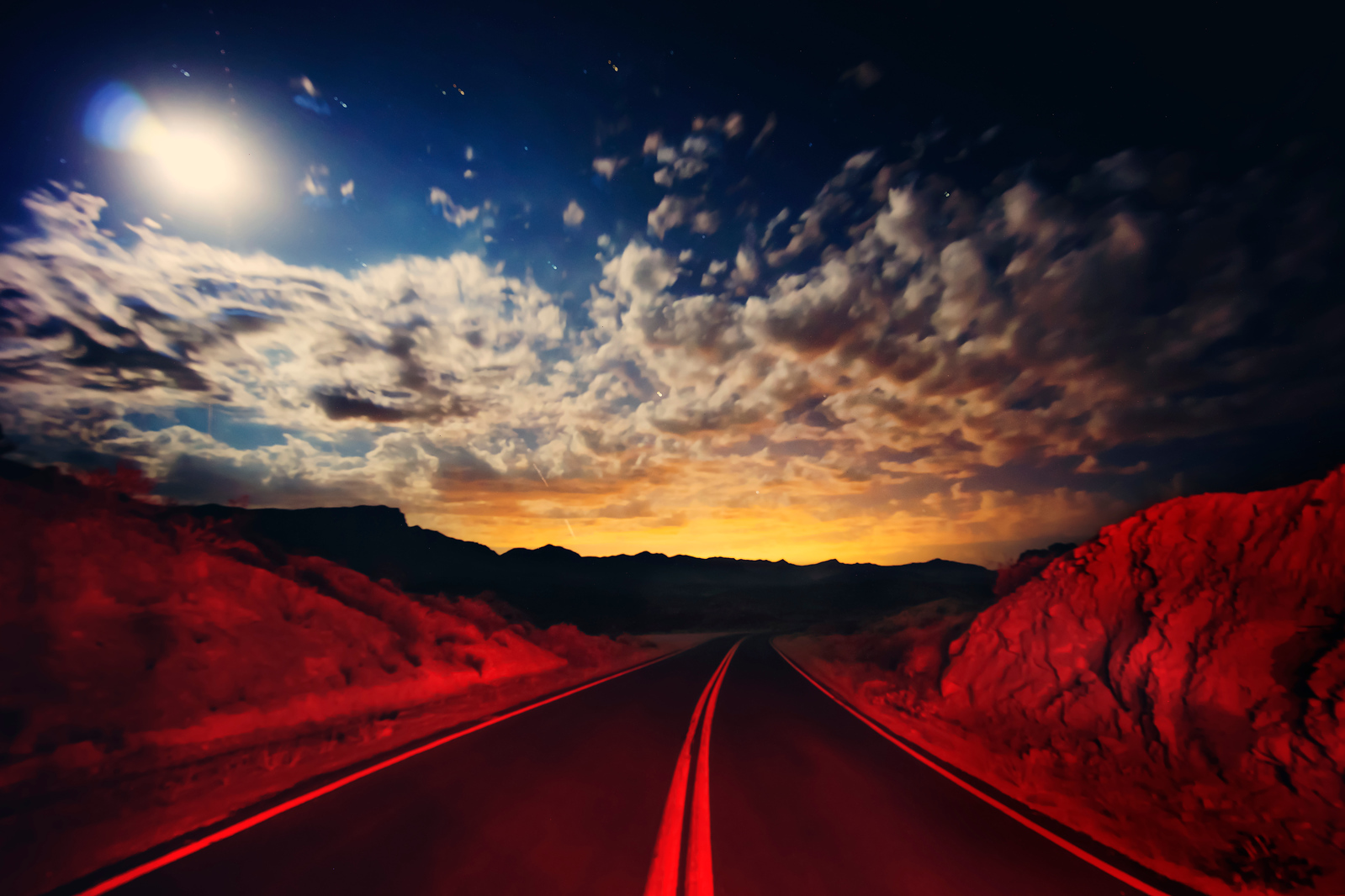 Driving through the Desert – Destination Vegas
