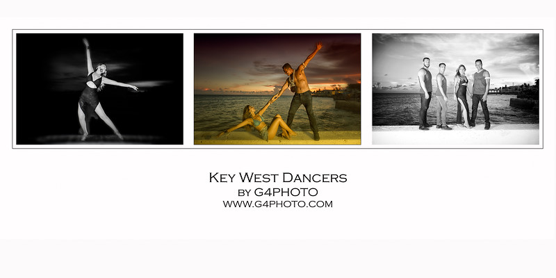 Poster-Key West Dancers 12x5