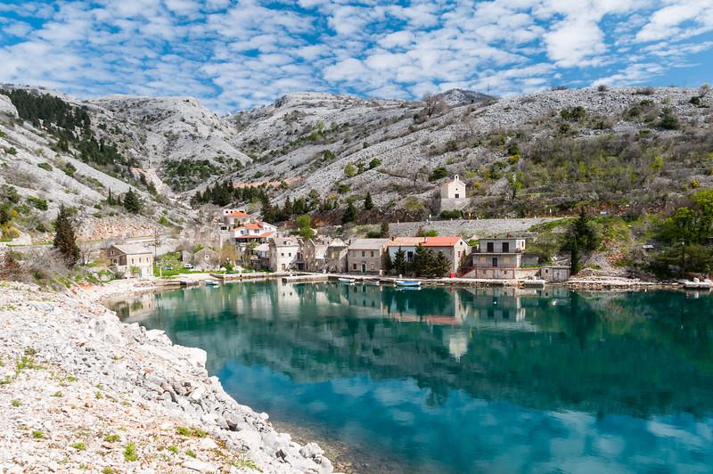 Along Croatia's coast road