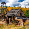 Old Mining Building Remains from Gold Rush Days