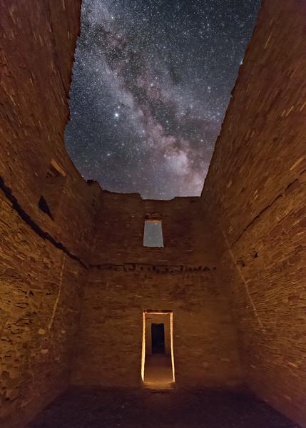 Inside Pueblo Bonito Ruins 2