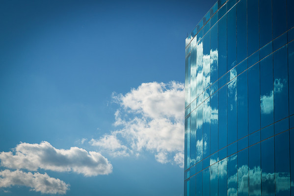Clouds Reflected