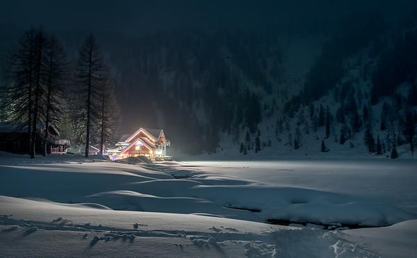 Rifugio Nambino in the Dolomites