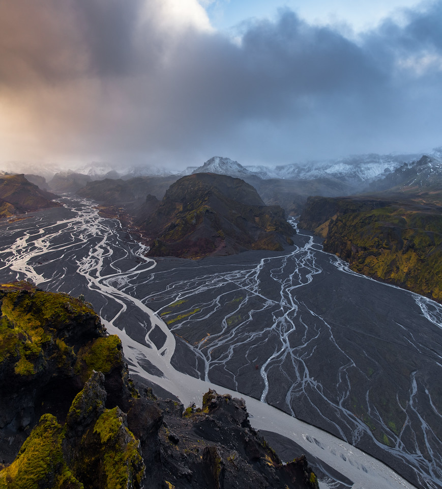 Braided Rivers in the Icelandic Highlands
