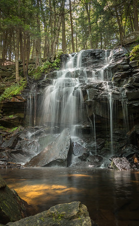 Dutchman Falls - Loyalsock Trail, PA