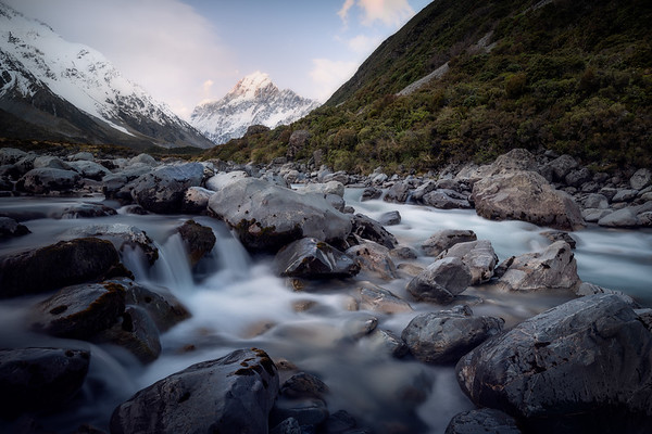 Frigid Flows || Hooker Valley Track