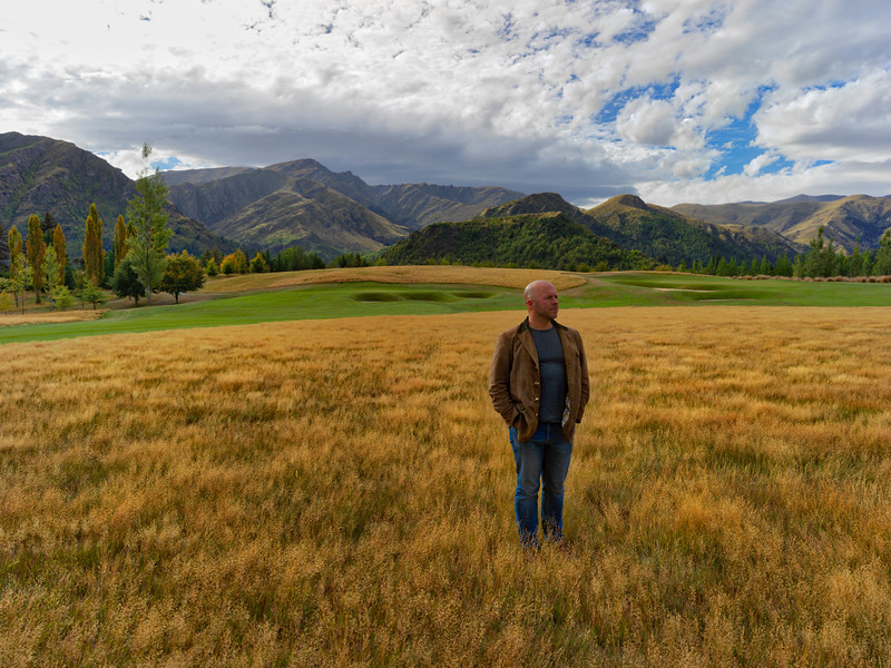 Derek Sivers In A Field