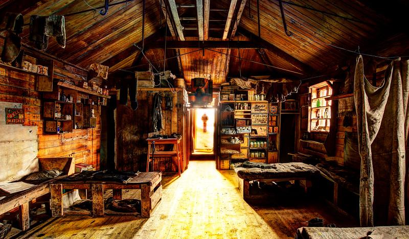 A Long Day At Skackleton's Hut