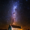 "<h2>The Church of the Good Shepherd under the Stars</h2> <br/>This is one of The Darkest Skies in the World. You may find this snippet interesting: ""A delegation from the country has successfully petitioned UNESCO for the protection of 'sky-scapes' as well as landscapes under their World Heritage system, in order to see the status granted to the air above Tekapo and Aoraki Mount Cook.""<br/><br/>If you ever get to this place, you'll be so shocked that you can see this with the naked eye! It's certainly worth a visit…<br/><br/>- Trey Ratcliff<br/><br/><a href=""http://www.stuckincustoms.com/2013/02/13/the-church-of-the-good-shepherd-under-the-stars/"" rel=""nofollow"">Click here to read the rest of this post at the Stuck in Customs blog.</a>"