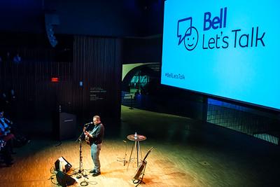 Sean McCann at National Music Centre Studio Bell Let's Talk