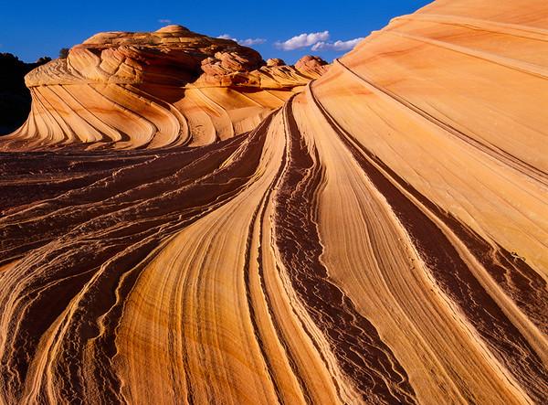 The Wave, Coyotte Buttes North, Paria Canyon-Vermillion Cliffs Wilderness, Arizona