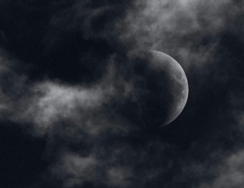 The Moon was a Ghostly Galleon
