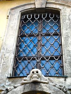 Budapest church window