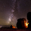 City of Rocks Milky Way