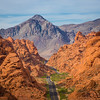 Twisted Road of Valley of Fire (Nevada)