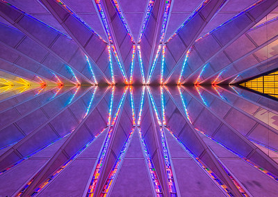 Air Force Academy Chapel Ceiling, Colorado Springs