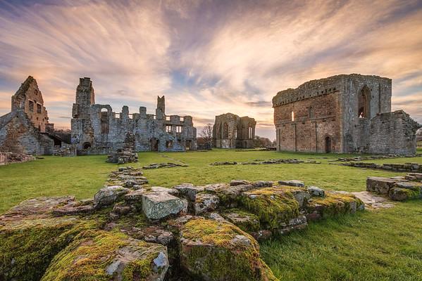 Egglestone Abbey Sky