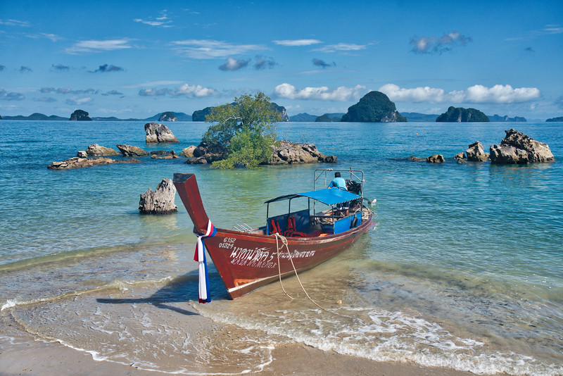 Boat Adventure In Thailand