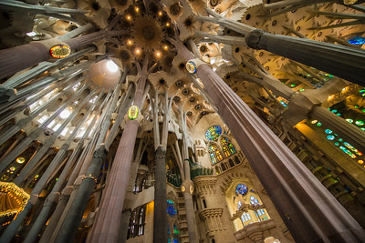 Barcelona, Spain, Sagrada Familia