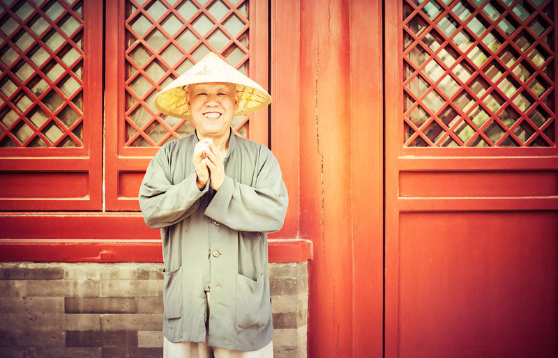 Happy Guy in China