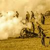 Confederate Artillery Smoke