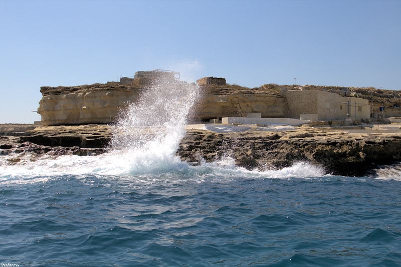 Malta.     Rounding It-Taqtiegh- tad-Delimara  03/24/19.    <br /> This work is licensed under a Creative Commons Attribution-<br /> NonCommercial 4.0 International License