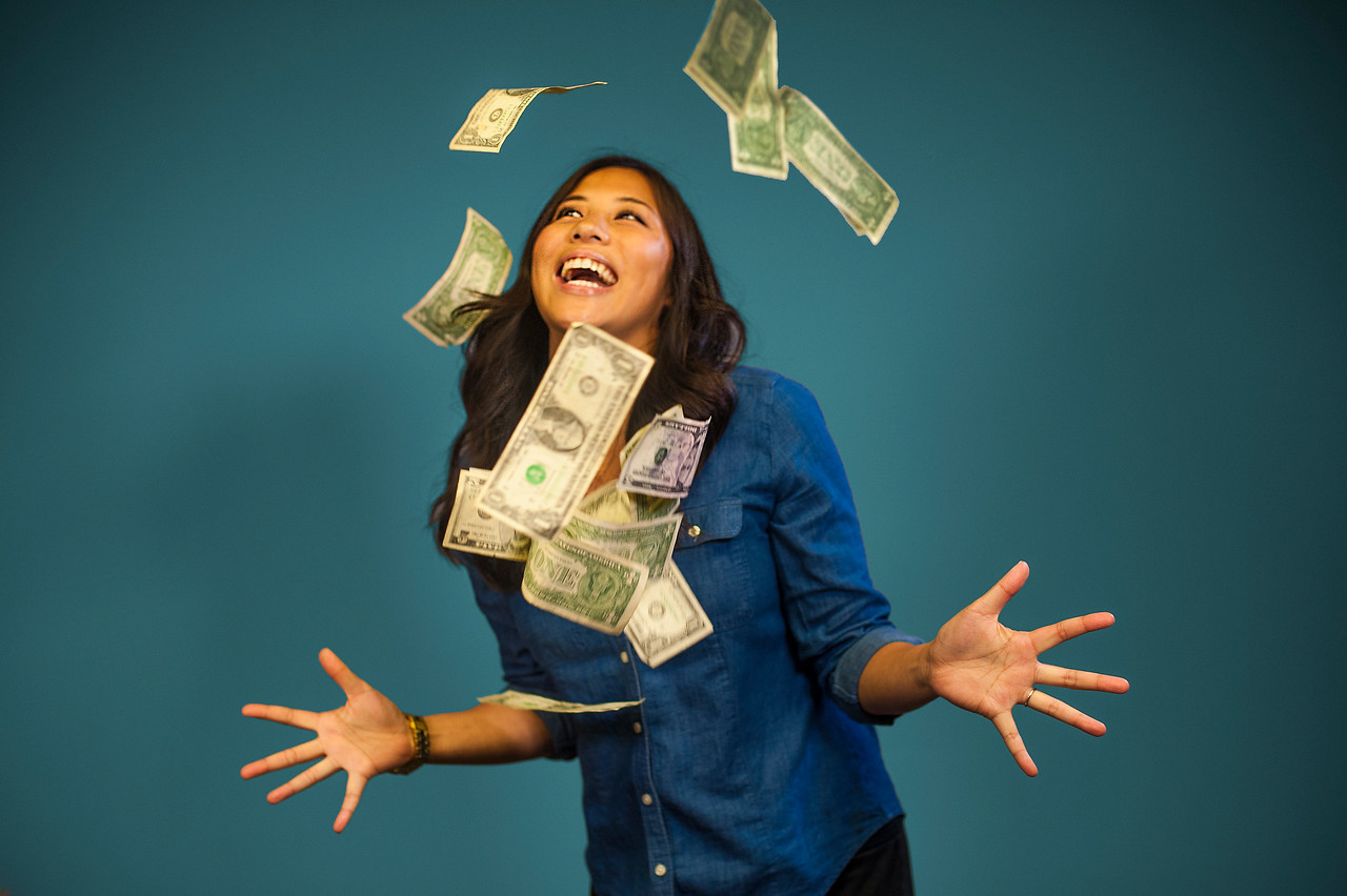 Stock photo for money article