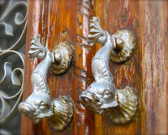 Fish door handles in Spain or Portugal