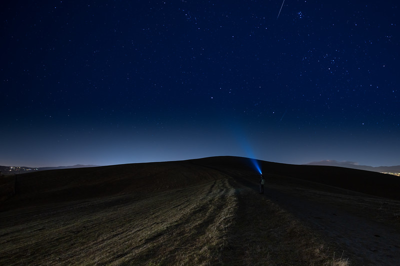 Searching for Geminids