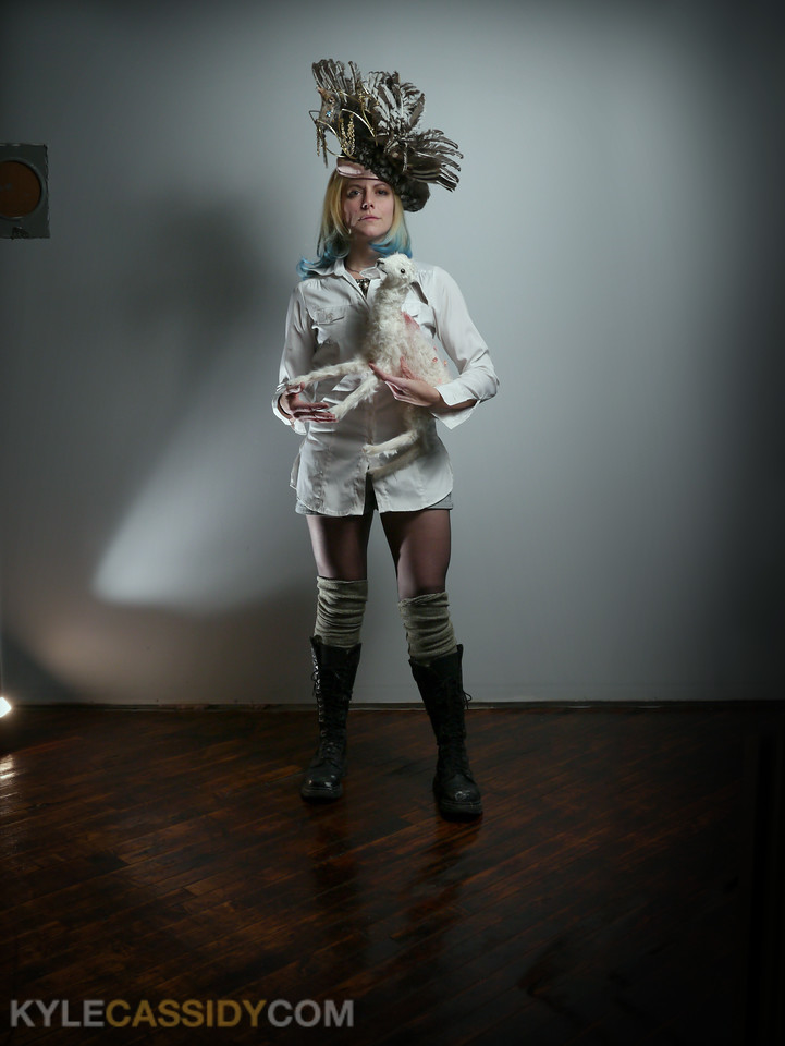 Rogue Taxidermist Beth Beverly. Cover of the Philadelphia Weekly.