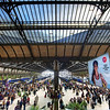 """<h2> La Gare</h2> <br/>I took the train from Paris to Nimes in the middle of the day, and ended up here with half an hour to spare. I had just enough time to get some pastries and some HDRs.  What else does a man need in life?<br/><br/>Here is a little tip that I'm sure many of you already know... but I thought I would go ahead and say it anyway! If you want a symmetrical shot, get in the absolute center.  And I mean absolute.  Check your corners, count the girders, etc.  You'll have to get a little OCD if you want a perfectly centered shot!<br/><br/>- Trey Ratcliff<br/><br/><a href=""""http://www.stuckincustoms.com/2011/01/15/le-gard/"""" rel=""""nofollow"""">Click here to read the rest of this post at the Stuck in Customs blog.</a>"""