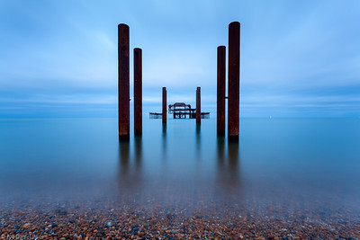 Old Pier, Brighton, East Sussex, England