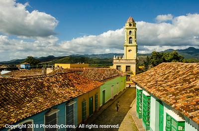 Beautiful Trinidad, Cuba.