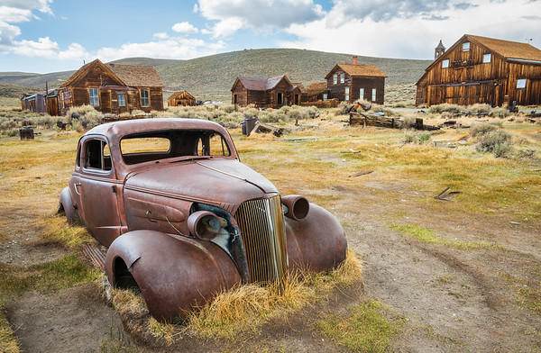 Abandoned Car at Bodie State Historic Park