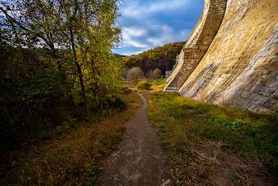 Trail near New Croton Dam 11-03-2020