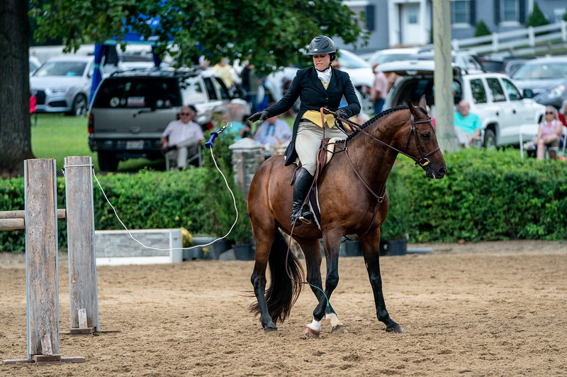 Opening the gate at Warrenton Horse Show Hunt Night September 2019