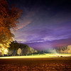 "<h2>Sunset at the UFO Landing Zone</h2> <br/>This was shot back behind the chateau after dusk settled into its final colors for the evening. All the light was so strange outside, from the blinding white near the fountain to the golden hues reflected off the chateau to the nebula purple from the dithering sky…<br/><br/>- Trey Ratcliff<br/><br/><a href=""http://www.stuckincustoms.com/2012/11/25/sunset-at-the-ufo-landing-zome/"" rel=""nofollow"">Click here to read the rest of this post at the Stuck in Customs blog.</a>"