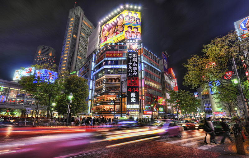 """<h2>The Mean Streets of Tokyo</h2> <br/>Tokyo has amazing action all the time.  There is never a good time to sleep or turn off the camera!  Every minute I sleep, I feel like I am missing something!<br/><br/>This was taken close to midnight on another evening when I was just randomly walking around the downtown streets.  It's all a wonderland of lights, colors, people, and sounds.  I've noticed there are many kinds of """"sensory overload"""" - and they are all on a sliding scale from good to bad.  <br/><br/> - Trey Ratcliff <br/><br/>Read the rest <a href=""""http://www.stuckincustoms.com/2010/08/27/the-mean-streets-of-tokyo/"""">here</a> at the Stuck in Customs blog."""