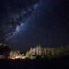 Milky Way over Glow-Worms